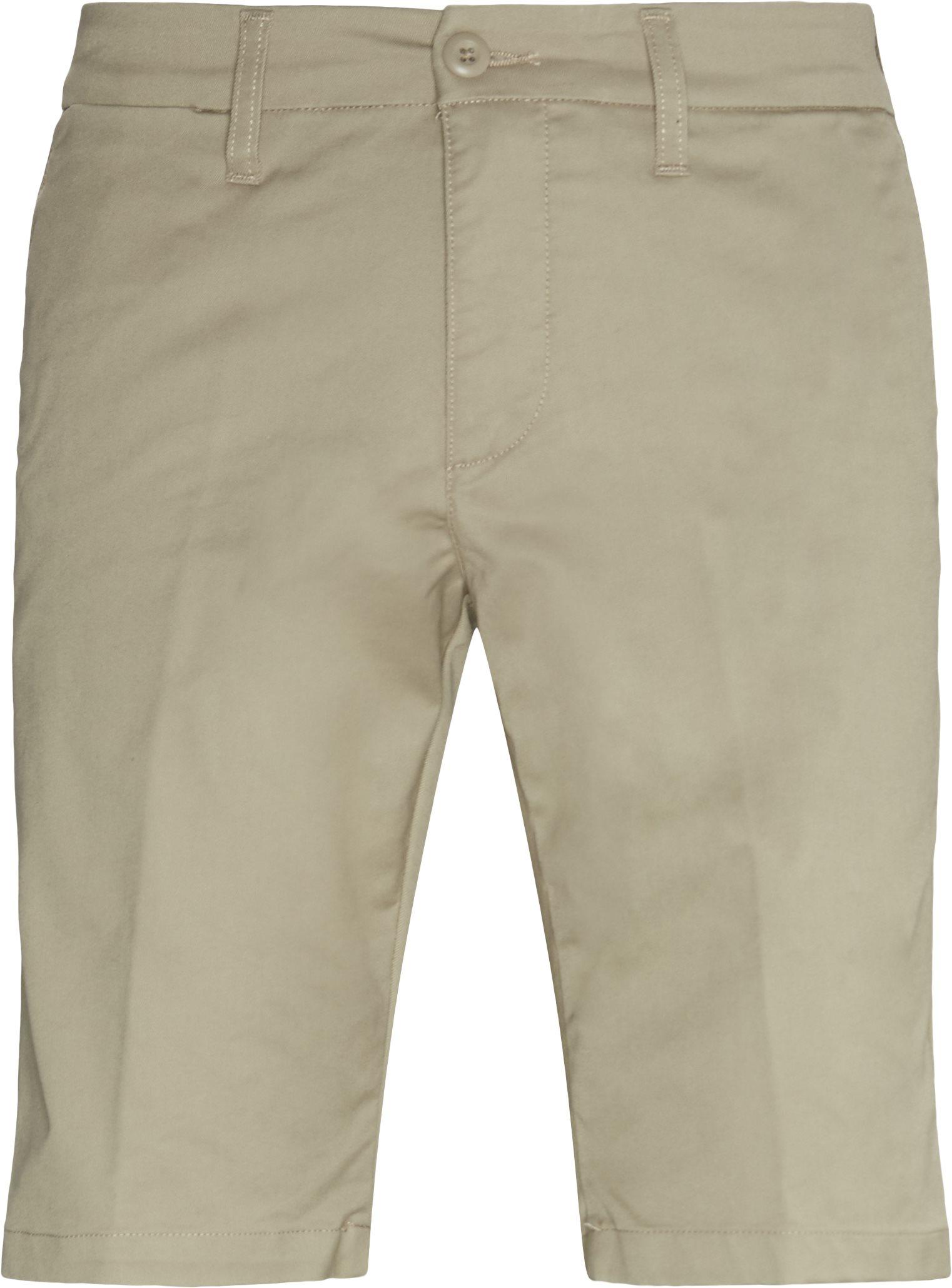 Sid Shorts - Shorts - Slim fit - Sand